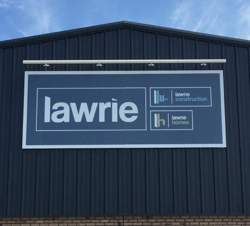 Lawrie homes printed materials