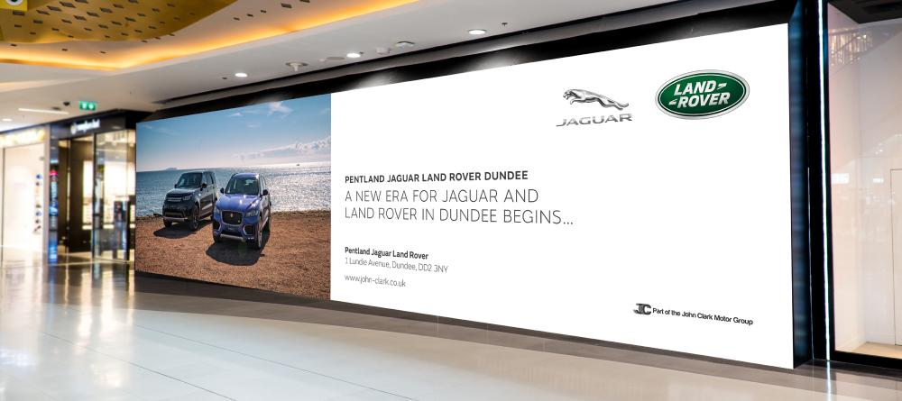 Pentland Jaguar Land Rover Launch 96 Sheet
