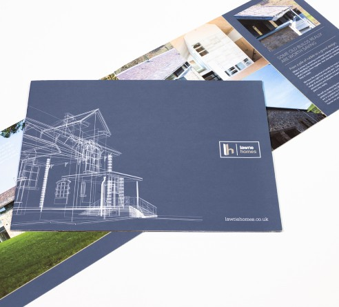 Lawrie homes page layout