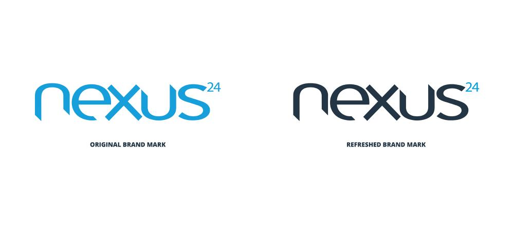Nexus24 Old and New Logo